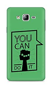Amez You can Do It! Back Cover For Samsung Galaxy ON7