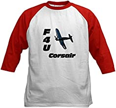 CafePress Kids Baseball Jersey - F4U Corsair Kids Baseball Jersey