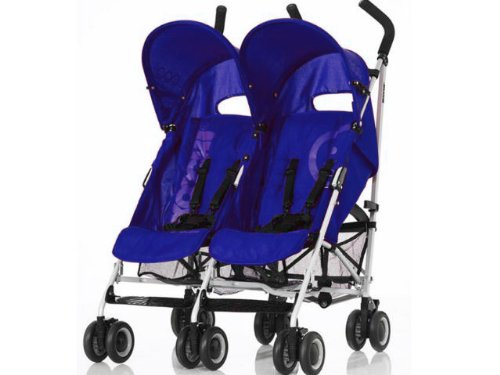 Cosatto Koochi Two Stepper Twin Pushchair - Navy