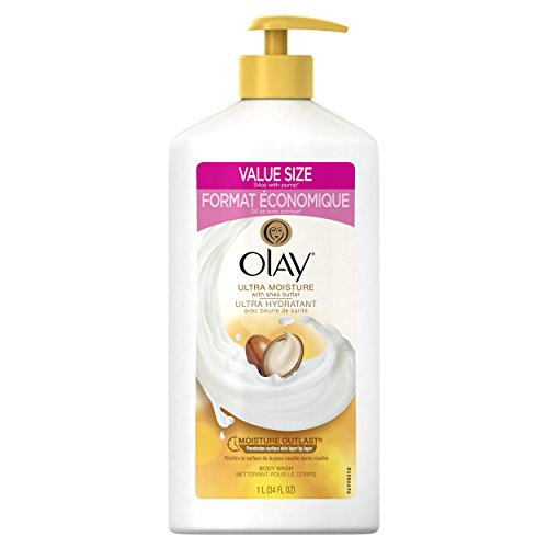 Olay Ultra Moisture Body Wash Shea Butter 0037000901037