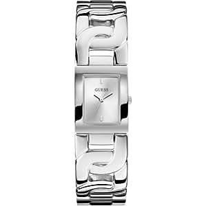 Guess Damen-Armbanduhr XS Analog Quarz Edelstahl W0003L1