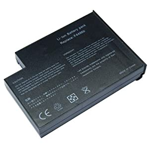 Laptop Battery for Apple QUANTA G120, 8 cells 4400mAh Black