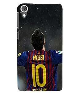 Citydreamz Messi\Football\Sports Hard Polycarbonate Designer Back Case Cover For HTC DESIRE 826/ HTC DESIRE 826 (CDMA+GSM)