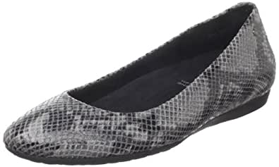 Rockport Women's Faye Ballet Flat,Marble Python,6 M US