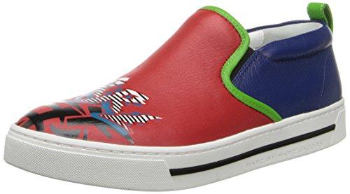 Sneakers senza lacci Marc Jacobs in pelle rosso/blu - Codice modello: S5646033 - Taglia: 40 IT