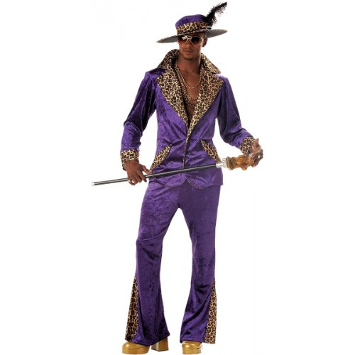 Pimp Costume - Medium - Chest Size 40-42