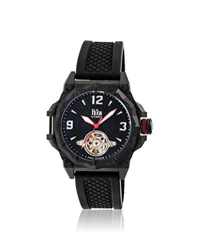 Reign Automatic Men's Hapsburg Black Silicone Watch