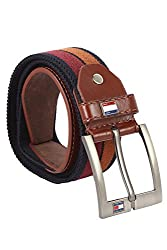 Lotus Designer Adults Belt (LB528_XL, Brown, X Large)
