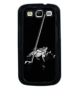 Fuson Premium 2D Back Case Cover Violin With white Background Degined For Samsung Galaxy S3 Neo::Samsung Galaxy S3 Neo i9300i