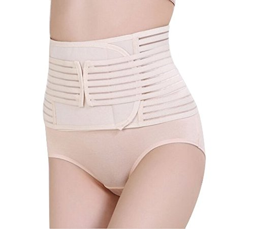 Healthcom Postnatal Recoery Support Girdle Belt Post Pregnancy Belly Waist Tummy Slimming Belt Lost Wight Body Shaper Wrapper Band Abdomen Binder (Backache Belt compare prices)