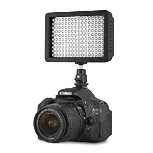 amazoncom chromo inc led ci dimmable ultra high power Chromo Inc.® 160 LED CI-160 Dimmable Ultra High Power Panel Digital Camera / Camcorder Video Light, LED Light for Canon, Nikon, Pentax, Panasonic,SONY, Samsung and Olympus Digital SLR Cameras 300x300