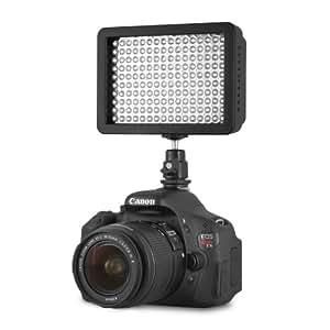 Chromo Inc.® 160 LED CI-160 Dimmable Ultra High Power Panel Digital Camera / Camcorder Video Light, LED Light for Canon, Nikon, Pentax, Panasonic,SONY, Samsung and Olympus Digital SLR Cameras