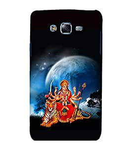 printtech Lord Goddess Vaishno Devi Back Case Cover for Samsung Galaxy J5 / Samsung Galaxy J5 J500F