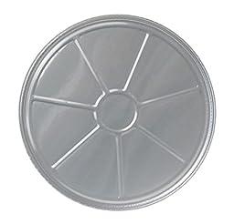 Durable Packaging 8000-30 Disposable Aluminum Pizza Pan, 12\