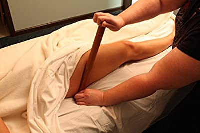 Mu-Xing Large Moon Bamboo Massage Pole