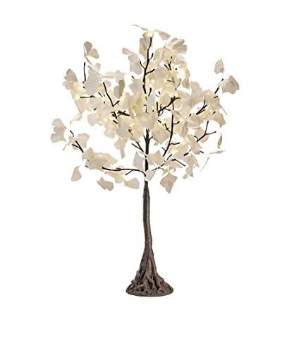 LED White Gingko Tree, Warm White Bulbs