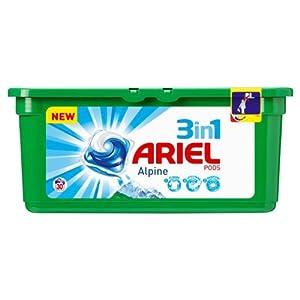 Ariel 3en1 Pods Alpine Lessive 30 doses