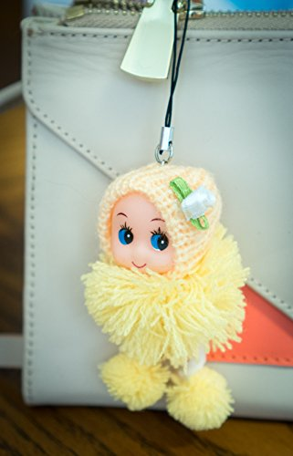 cute-yellow-snug-cozy-doll-on-a-loop-string-charm-wool-pompom-toy-soft-fluffy-cotton-knit-hat-gem-d-