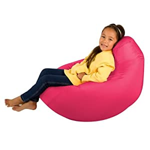 Kids Hi-BagZ - Kids Bean Bag Gaming Chair - Childrens Beanbag (Water Resistant) PINK by Hi-BagZ