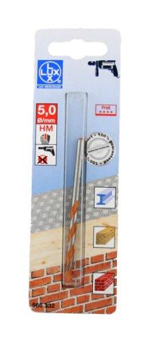 LUX 566332 Allzweck-Bohrer Gesamtlänge in mm 85 mm Durchmesser in mm 5 mm PROFI