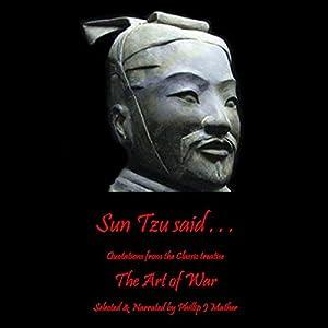 Sun Tzu Said... Audiobook