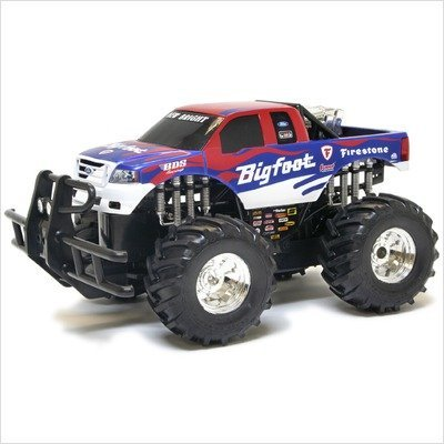 New Bright 1:14 Scale Radio Control Monster Truck - Raminator Red
