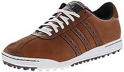 adidas Golf Men\'s Adicross Classic Tan Brown/Tan Brown/White Sneaker 10.5 M