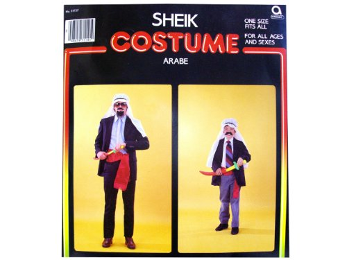 Arab Sheik Costume - One Size Fits All Ages