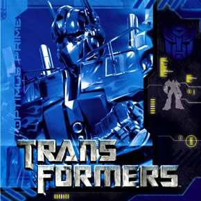Transformers Lunch Napkins 16ct - 1