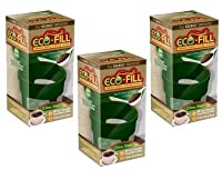 Eco-Fill Reusable Coffee Filter for Cusinart/Breville/Keurig Single Serve K-Cup Coffee Brewers- 3 Pack