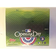 MLB 2014 Topps Opening Day Baseball Retail Trading Cards by Topps
