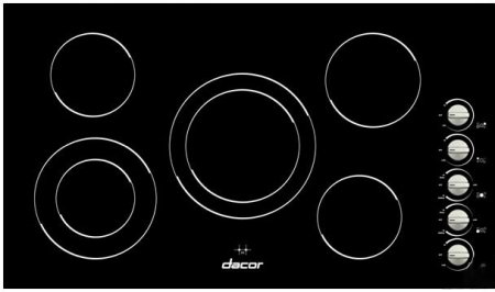 dacor-dect365b-distinctive-36-smoothtop-electric-cooktop-with-5-radiant-elements-frameless-ceramic-g