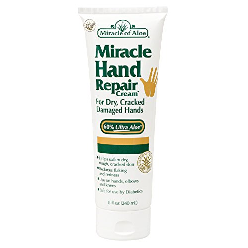 Miracle of Aloe Miracle Hand Repair Cream 8 Oz (Miracle Hand Cream compare prices)