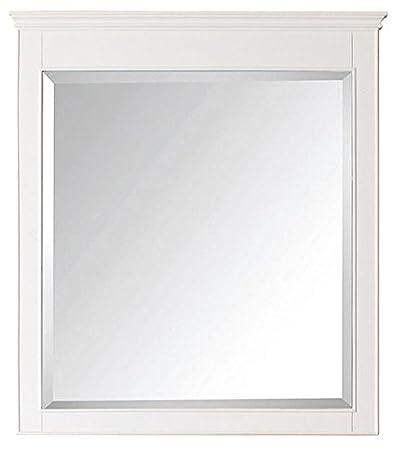 "Silverton 34"" Mirror, 38""Hx34""Wx2""D, WHITE"