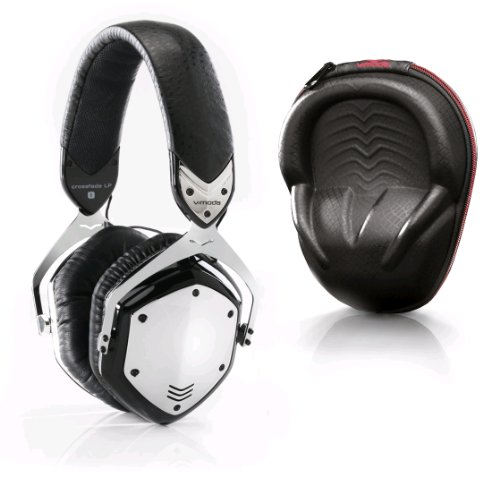 V-moda XFLPR-E-PHCHROME Crossfade LP Remote with Inline Volume Control - Phantom Chrome