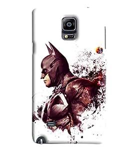 Blue Throat Batman Printed Designer Back Cover/Case For Samsung Galaxy Note Edge