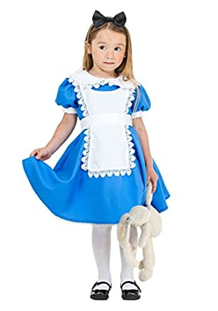 Fun Costumes girls Toddler Supreme Alice Costume