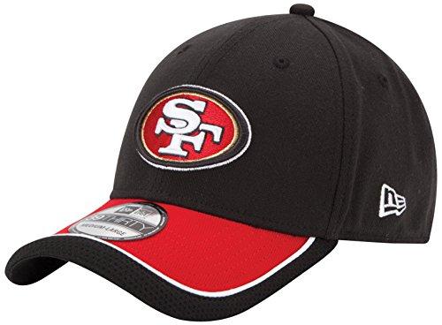 NFL San Francisco 49Ers 39Thiry Flex Fit Cap, Reverse Team Color, Large/X-Large