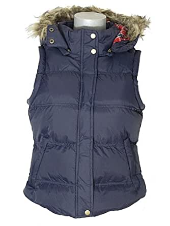 Womens Body Warmers Ladies Padded Gilet Puffa Jacket Super Quality (10, Navy)