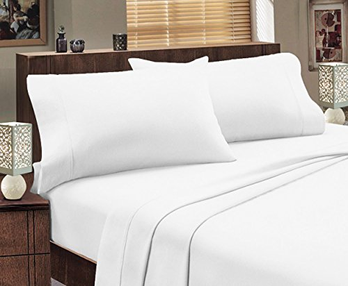 Mayfair Linen Hotel Collection 100% Egyptian Cotton- Genuine 800Tc Sheet Set Full White (Full Sheet Set Hotel compare prices)