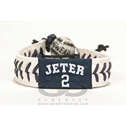 Gamewear Jeter Gamewear MLB Leather Wrist Bands