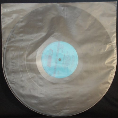50-Anti-Static-Round-Bottom-12-LP-Record-Album-Inner-Sleeves-HDPE-375-Micron