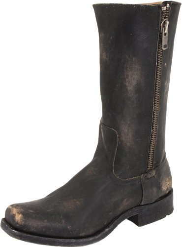 FRYE Men's Heath Outside Zip Boot