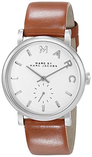 Marc Jacobs donna-Orologio da polso al quarzo in pelle MBM1265