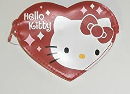 Hello Kitty Red Heart Shaped Change or Coin Purse