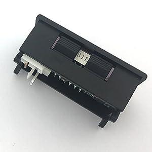 McIgIcM Digital Voltmeter Led,Red and Blue Digital Voltmeter Ammeter Dual Display Voltage DC 0-100V 10ADetector Current Meter Panel Amp Volt Gauge 0.28