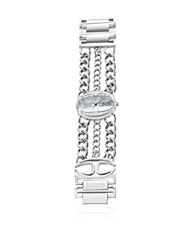 Just Cavalli Reloj de cuarzo Trinity Plateado 41 mm