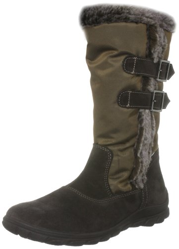 Ricosta Junior Haley Pizarra Brown Waterproof Boot 80232-283 10 Child UK, 28 EU
