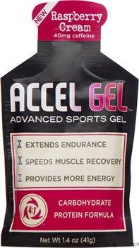Accelerade Accel Gel - 24 Pack - RASPBERRY CREAM (Accelerade Energy Gel compare prices)