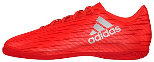 adidas X 16.4 In, Scarpe da Calcio Unisex - Bambini, Rosso (Solar Red/Silver Metallic/hi-Res Red), 32
